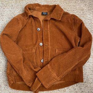 BDG mustard colored corduroy jacket